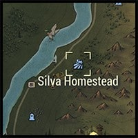 Location of Silva Homestead on the Map