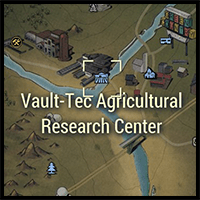 Vault-Tec Agricultural Center - Map Location