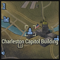 Charleston Capitol Building - Map Location