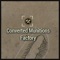 Converted Munitions Factory - Map