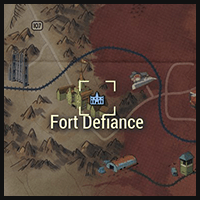 Fort Defiance - Map