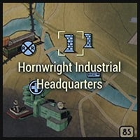 Hornwright Industrial HQ - Map Location