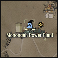Monongah Power Plant - Map Location