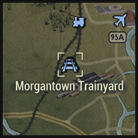 Morgantown Trainyard - Map Location