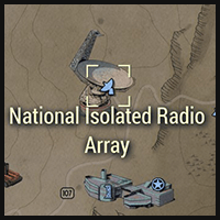 National Isolated Radio Array - Map Location