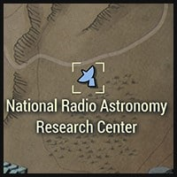 National Radio Astronomy Research Center - Map