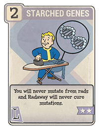 Perk Card - Starched Genes