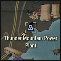 Thunder Mountain Power Plant - Map Location
