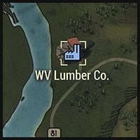 West Virginia Lumber Co - Map Location