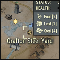 Grafton Steel Yard - Map Location
