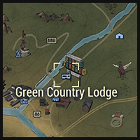 Green Country Lodge - Map Location