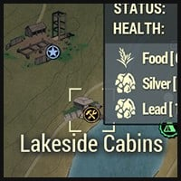 Lakeside Cabins - Map Location