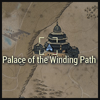 Palace of the Winding Path - Map Location