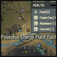 Poseidon Energy Plant Yard - Map Location