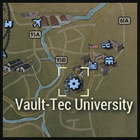 Vault-Tec University - Map Location