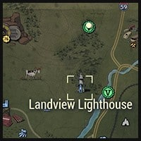 Landview Lighthouse - Map Location