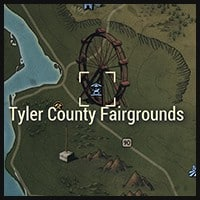 Tyler County Fairgrounds - Map Location