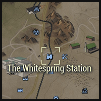 Whitesprings Station - Map Location