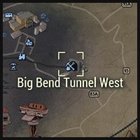 Big Bend Tunnel West - Map Location