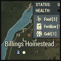 Billings Homestead - Map Location