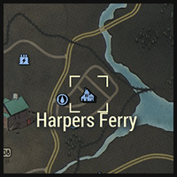 Harpers Ferry - Map Location