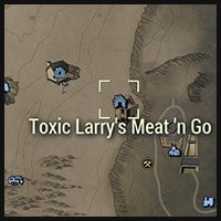 Toxic Larry's Meat n Go - Map Location