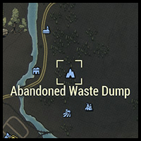 Abandoned Waste Dump - Map Location