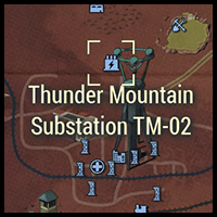 Thunder Mountain Substation TM-02 - Map Location