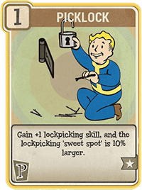 Picklock - Perk Card