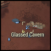 Glassed Cavern - Map Location