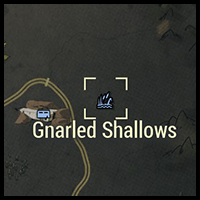 Gnarled Shallows - Map Location