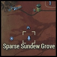 Sparse Sundew Grove - Map Location