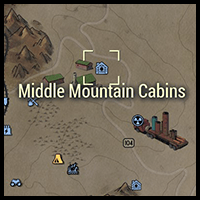 Middle Mountain Cabins - Map Location