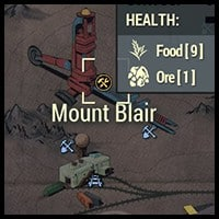 Mount Blair - Map Location