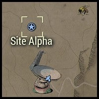 Site Alpha - Map Location
