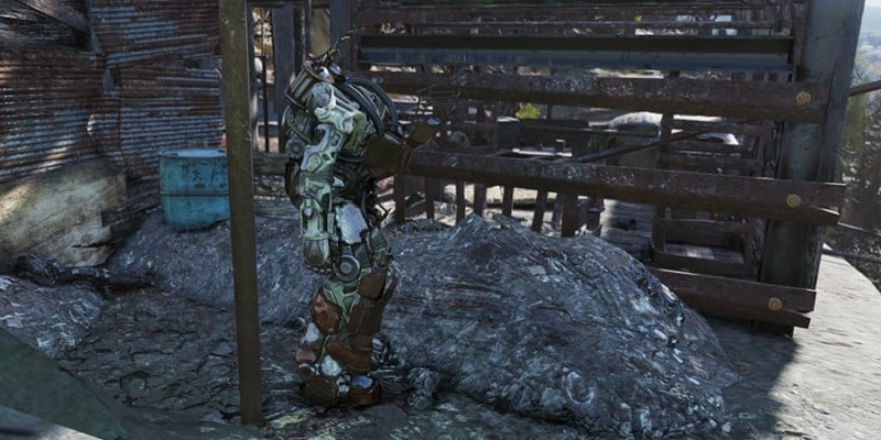 Cliffwatch Power Armor Location