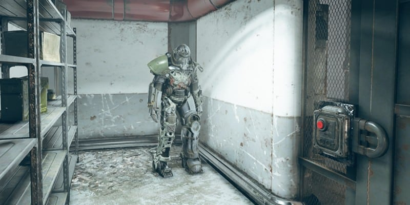 Fujiniya Intelligence Base Power Armor Location