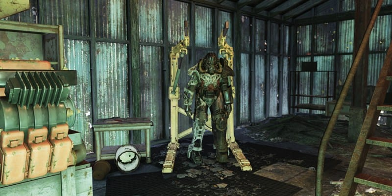 Lewis and Sons Farming Supply Power Armor Location
