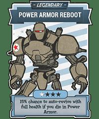 Power Armor Reboot - Legendary Perk Card