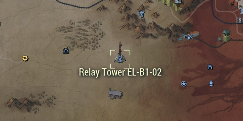 Relay Tower EL-B1-02 Location on the Map