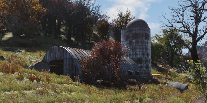 Silva Homestead - Shed and Grain Silo
