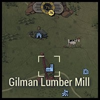 Gilman Lumber Mill - Map Location