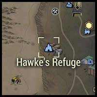 Hawkes Refuge - Map Location