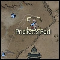 Prickett's Fort - Map Location