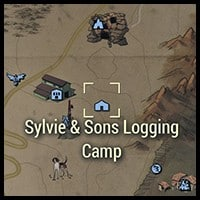 Sylvie and Son's Logging Camp - Map Location